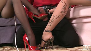 One stiff dick is enough to please naughty Wiska and her hot friend