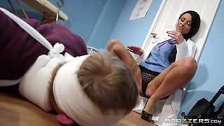 Lingerie Clad Sexy Doctor Getting Doggystyled In Hospital. Hd Porn With Ania Kinski And Danny D