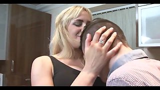 Hubby convinces his wife to cheat