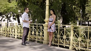 New cock is good cock stars Alyssia Kent and Raul Costa -