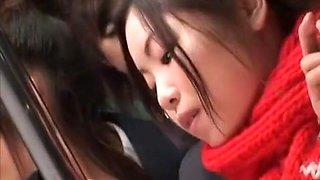 Best Japanese whore Minaki Saotome, Azusa Nagase in Incredible Hardcore, Lesbian/Rezubian JAV video