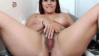 Sexy amateur big boobs girl pussy nailed in the toilet