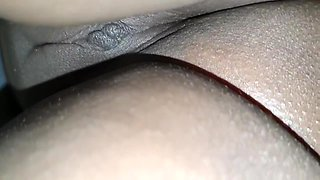 Sexy Latina Wife In A Reveling Bathroab Doing Hous Work - Upskirt Bubble Butt And Cameltoe Pov