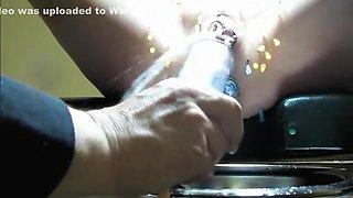Horny amateur Piercing, Fetish porn scene