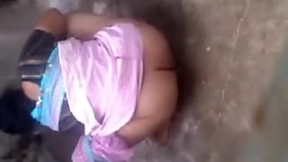Desi Hubby employ His Wife Bare at Outdoor