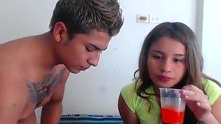 Crazy Homemade clip with Filipina, College scenes
