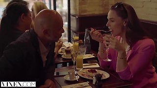Tori Black, Jia Lissa And Cristian Devil In Hellcat And Her Husband Treat Themselves To A Beautiful Coed In Pa