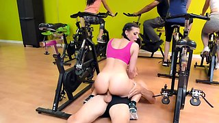 Gym is the best place for sex of Rachel Starr and Sean Lawless