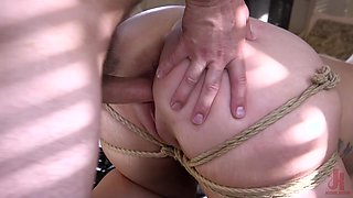 MILF blonde vixen Summer Day loves getting abused hard and rough