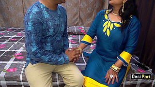 Desi Pari Aunty Fucked For Money With Clear Hindi Audio