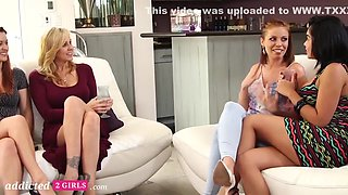 First Time Lesbian Swingers Swap Girlfriends Part 1 With Selena Santana And Karlie Montana