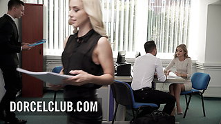 Sensual Secretary Tiffany Tatum knows how to please her boss