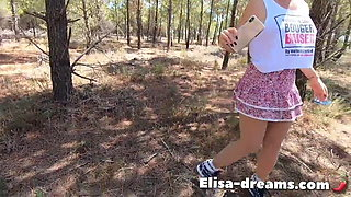 Fucking with a guy outdoors (First Part)