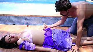 Devar Bhabhi Romance in swimming pool