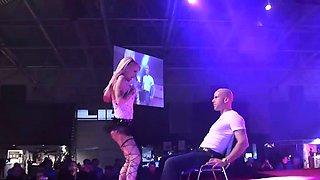 lapdance scandal show on stage