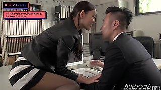 JAVAV Hot office lady idol fucking uncensored squirt