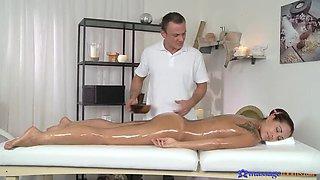 Oil Massage Makes Sex Easier