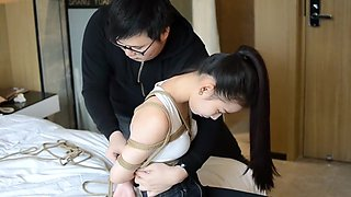Cutie Reluctant To Be Gagged
