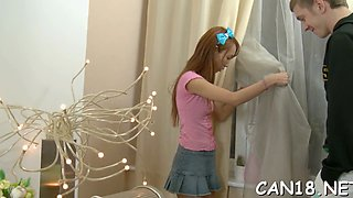sweet and innocent drilling teen film 4