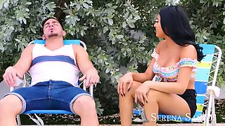 Naughty america serena santos fucks her friends brother