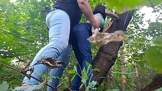 Hardcore lesbian sex in the forest - Lesbian-illusion