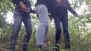 Three Strangers In The Forest