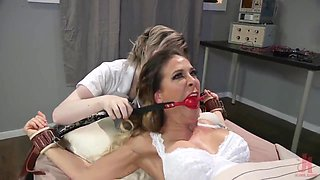 Nightmare Nurse: Ella Hollywood Fucks Nurse Cherie Deville