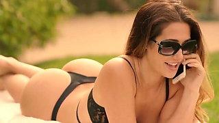 Eva Lovia movie part 5, first double penetration