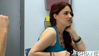 Salacious brunette gf Jessica Ryan flaunts her sweet body