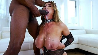 Asian MILF Kianna Dior is dominated by a BBC