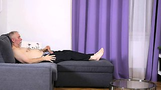 Vicious slut drilled and licked