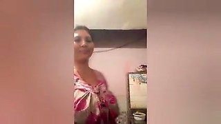 Tango Big Boob Nepali Aunty In The Kitchen Song