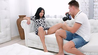 Sweetie is in for a nice round of heavy sex