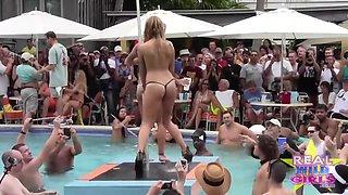 Nude Girls In Public Key West Beach
