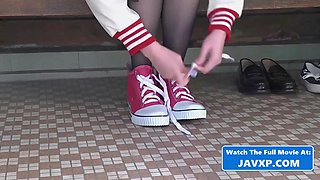 Hot asian schoolgirl at the doctor, japanese jav