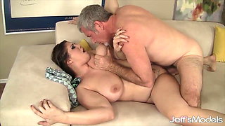 Jeffs Models - Big Jugs BBW Takes Cock Compilation