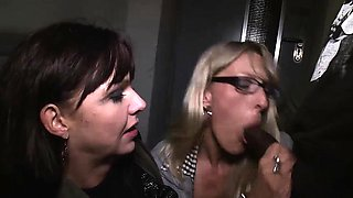 Hot Melina Pure and Lana Vegas drilled by a BBC