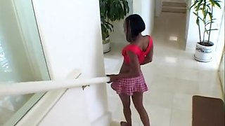 Crazy pornstar Jade Stone in amazing black and ebony, brunette xxx video