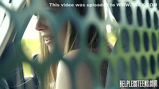 Dolly Little Abused In A Strangers Car - Bruno Dickems And Dolly Leigh