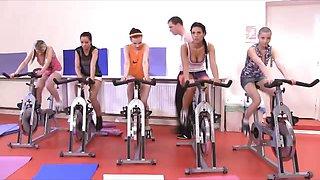 Fitness CFNM orgy