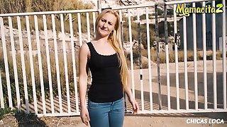 Horny Helena Valentine Wants To Do It Outside