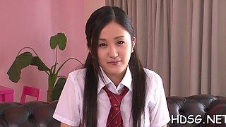 Sensual teen exotic maid ai wakana expreses her nastiness