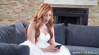 Nasty Bride Just Wants To Have One Last Fling - Johnny Sins And Lauren Phillips