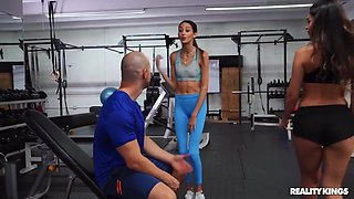 Duncan Saint And Katana Kombat In Gym Gives Sex Addicts A Chance For A Doggy Workout