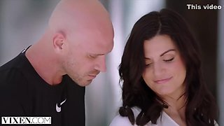 Screwed On The Bed With Kyler Quinn And Johnny Sins