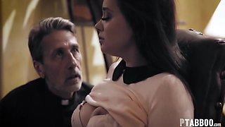 Gia Paige In Priest Takes Advantage Of A Desperate Bride