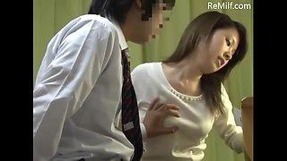Japanese private female teacher