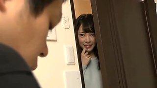 Japanese mom & son in the bathroom 5