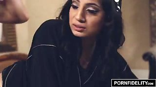 Arab wife punished by her husband