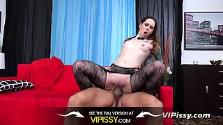 Vipissy - The Maid Gets Wet - Piss Drinking